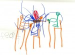 Drawings by Carson